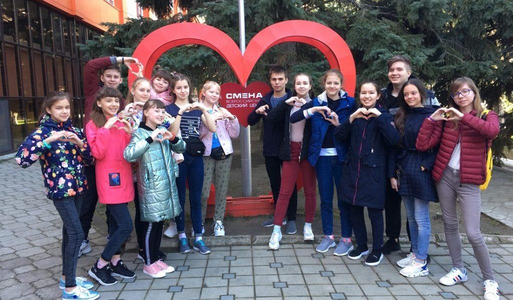 Уральские школьники в ВВЦ «Смена» изучают практику благоустройства и принципы формирования комфортной городской среды