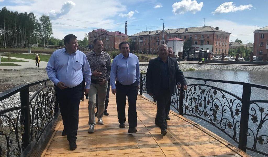 Благодаря поддержке областного правительства и участию в нацпроектах, в Волчанске началось активное обновление городских систем жизнеобеспечения