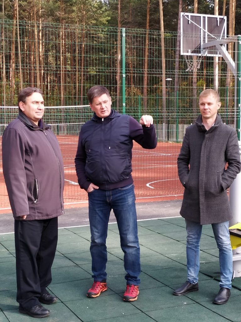 В Березовском открылся новый уличный оздоровительно-досуговый комплекс с самой протяженной велодорожкой в Свердловской области