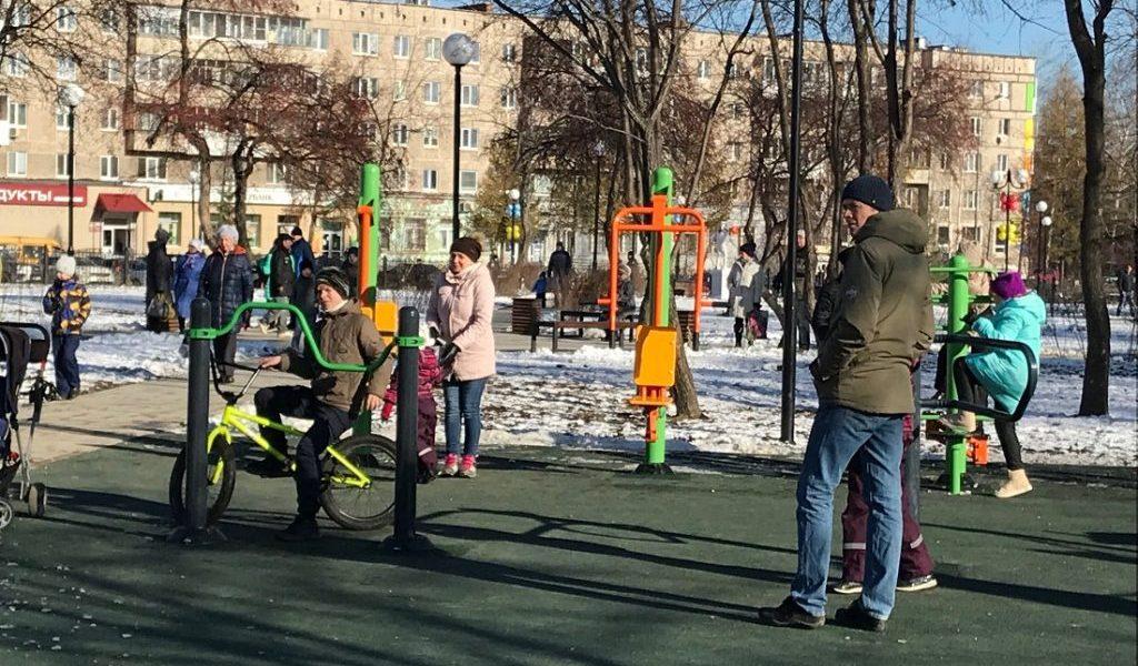Реконструированные в рамках нацпроекта «Жилье и городская среда» площадки открылись в Нижнем Тагиле и Каменске-Уральском