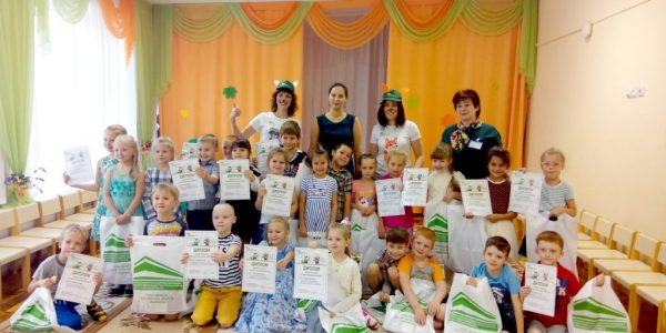 Первый урок по капитальному ремонту для дошколят прошел в Екатеринбурге