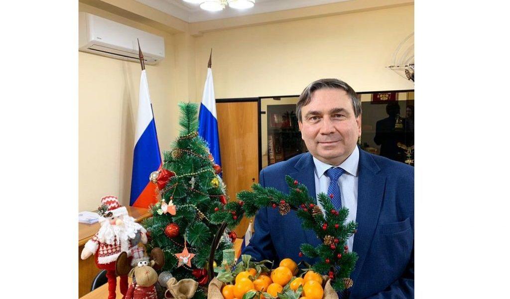 Поздравление Николая Смирнова с Новым Годом!