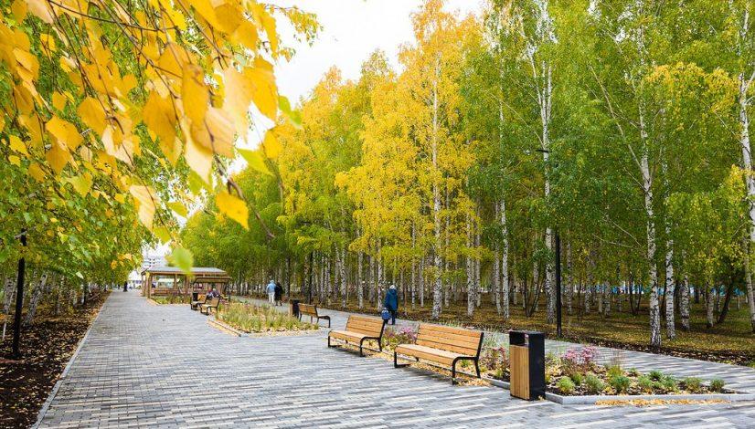 Парк Победы в Нижнем Тагиле