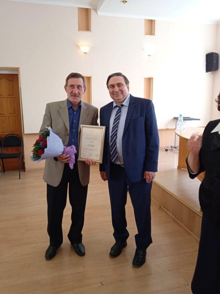 Николай Смирнов и Нина Шеховцева вручили награды лучшим работникам отрасли ЖКХ