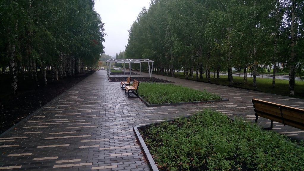 Парк Победы в Нижнем Тагиле, модернизацию которого поддержал Евгений Куйвашев, стал лучшим проектом благоустройства России