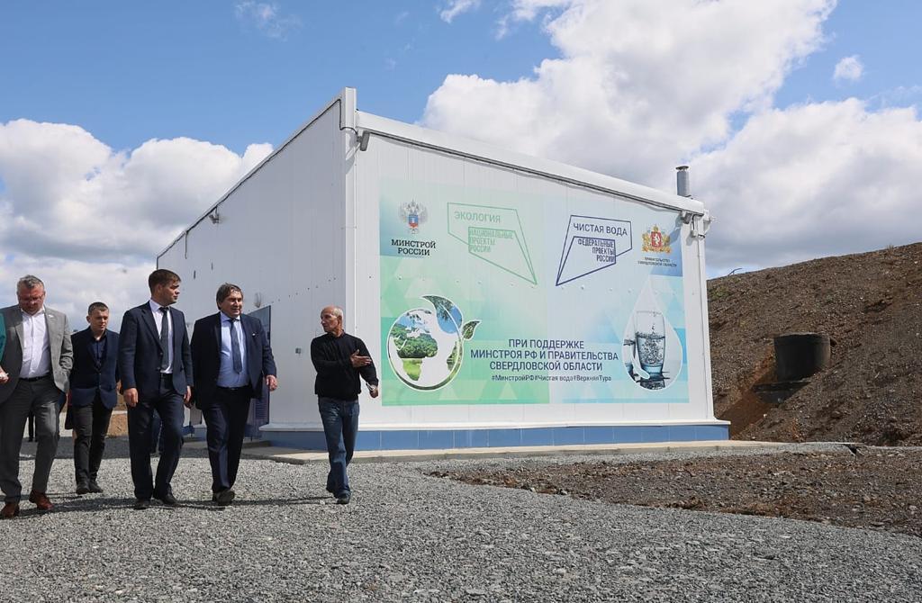 Насосная станция, построенная по решению Евгения Куйвашева, обеспечила чистой питьевой водой 95 процентов потребителей Верхней Туры